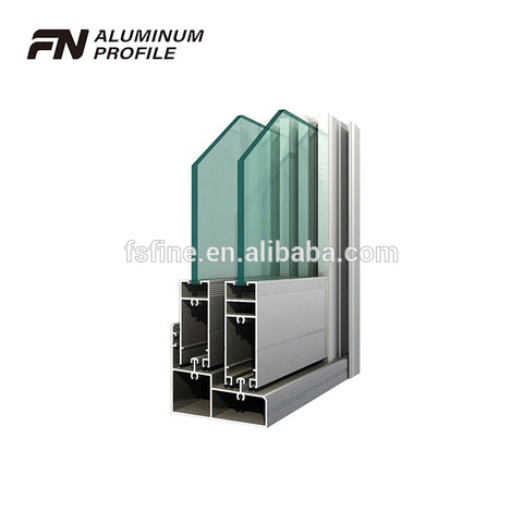 factory price extruded sliding track aluminum channel aluminum window and door profile on China WDMA