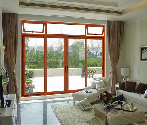 fire rated industrial philippines aluminum alloy outdoor patio glass french sliding doors on China WDMA