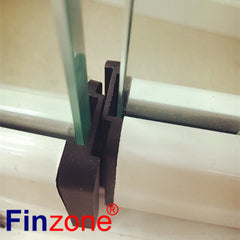flexible frameless 6 panel slide glass entri door hanger on China WDMA on China WDMA
