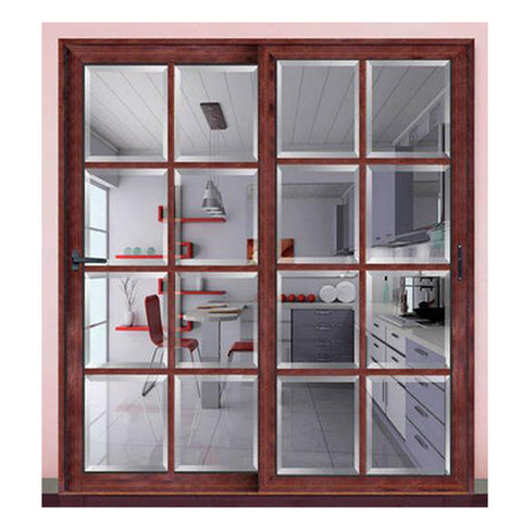 french style aluminium double glass door sliding doors windows philippines price and design on China WDMA