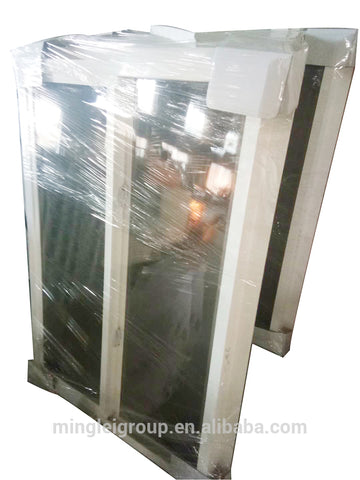 french vinyl clad upvc plastic pvc glass sliding windows and doors iron tint grill price on China WDMA