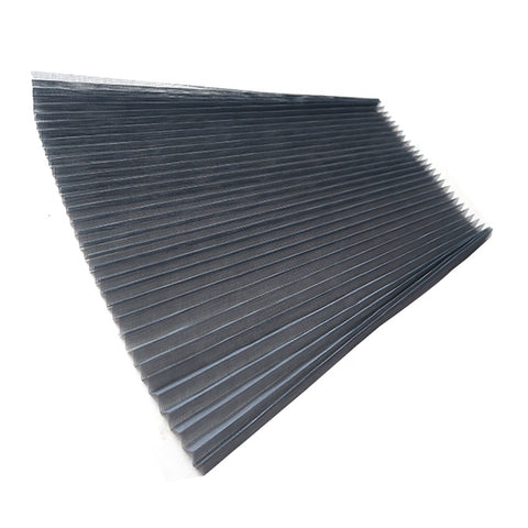 grey color folded fiberglass insect window screen on China WDMA