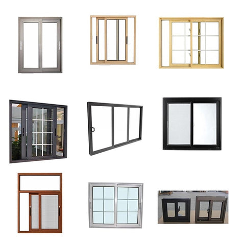 high quality customized upvc window frame manufacturer on China WDMA