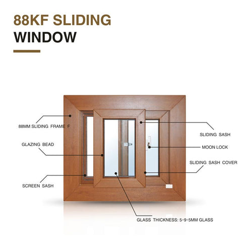 high quality low price double glazed glass upvc windows and doors on China WDMA