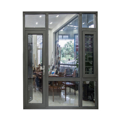 high quality powder coated aluminum awning window frame aluminium on China WDMA
