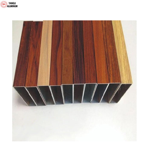 high quality wood grain aluminum extrusion used garden windows for sale on China WDMA