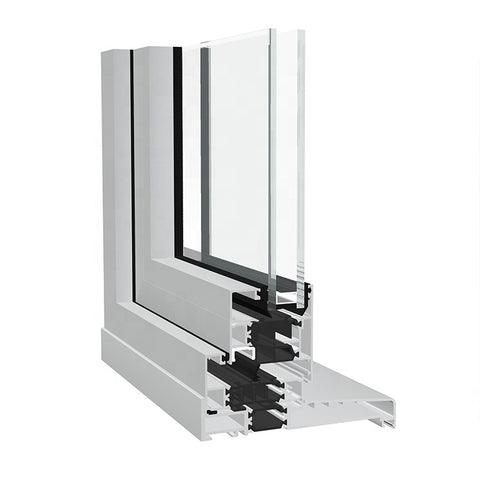 hinged out aluminium swing window double side-hung window open outside casement aluminum windows on China WDMA