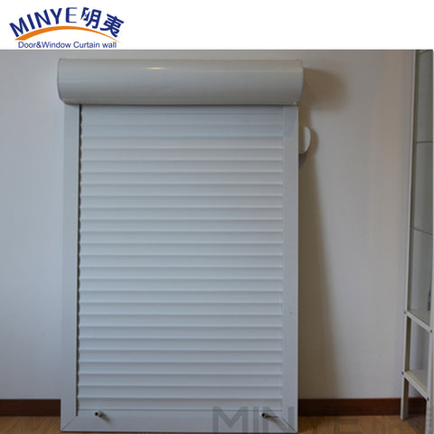 hot sale durable design aluminum rolling shutters windows /frosted glass shutters/glass rolling shutters on China WDMA