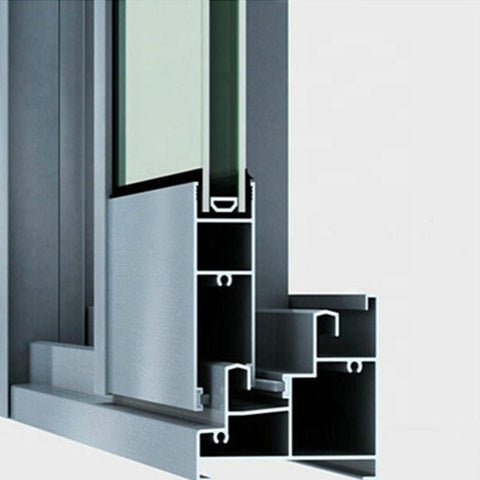 hotsale smooth slide cost saving aluminum double glazing sliding window with SS304 screen on China WDMA
