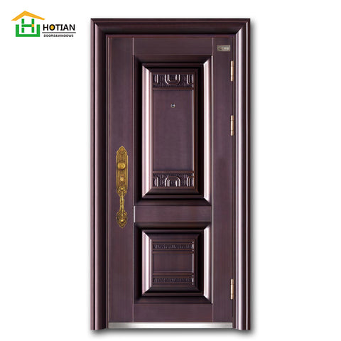 house main gate designs Turkey exterior steel security door entry metal door buy direct from china alibaba on China WDMA