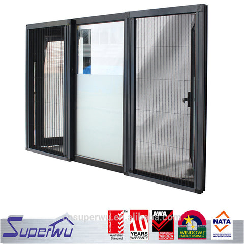 hurricane impact aluminium window with sub frame casement door windows on China WDMA