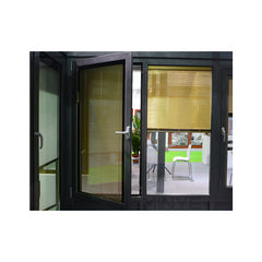 inside double glass window/curved glass windows/windows with blinds inside on China WDMA