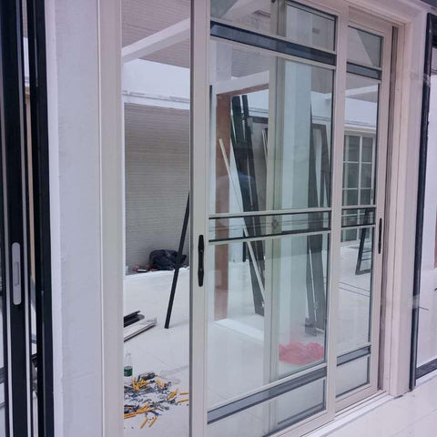 kitchen bedroom polycarbonate pvc glass aluminum sliding door price on China WDMA