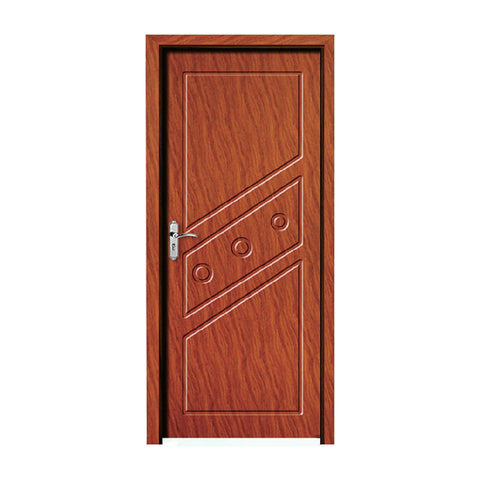 latest design wpc door interior door room door made in china factory on China WDMA