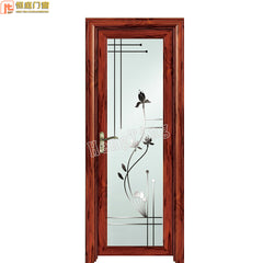 modern aluminium front security doors with aluminum channel door frame on China WDMA