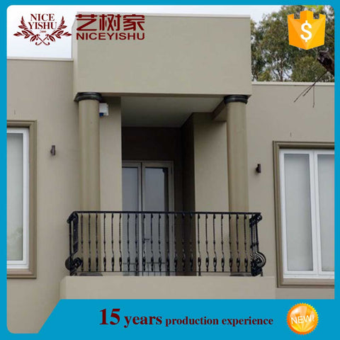 modern different pictures of balcony french doors for homes /luxury ornamental aluminum balcony balustrade on China WDMA on China WDMA
