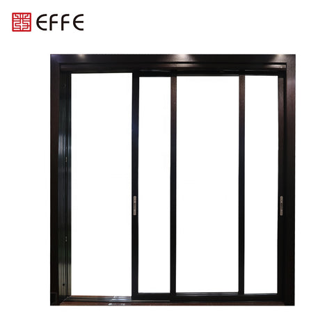 modern interior aluminium alloy french automatic sliding doors for sale on China WDMA