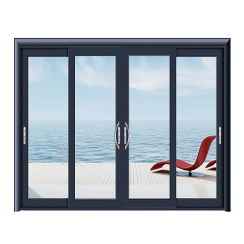 new product ideas 2018 aluminum 4 panel sliding patio doors on China WDMA