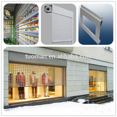 perforated roller shutter door on China WDMA