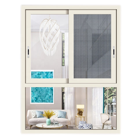 philippines kenya Australian latest designs double glazed size aluminum frame office sliding glass window price on China WDMA