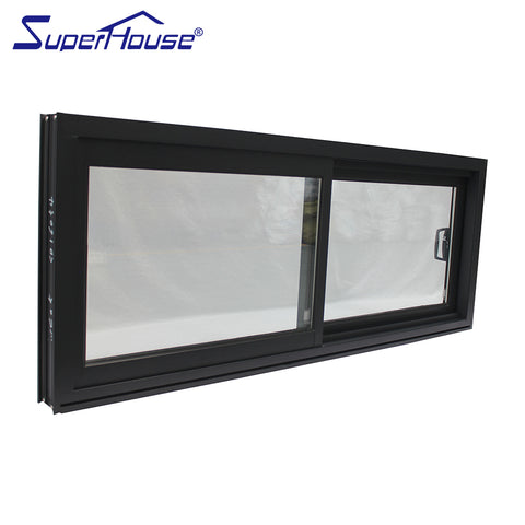 picture Aluminum frame glass PVC profile sliding window for bedroom comply with AU standards New Zealand standards on China WDMA