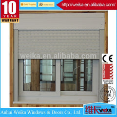 plastic sliding window and door aluminium sliding window with roller shutter on China WDMA