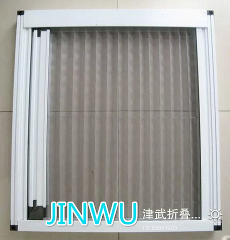 plisse window screen,Plisse insect mesh,folding screen on China WDMA