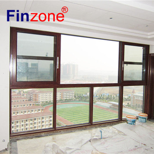 powder coated aluminium window white aluminium frame glass window