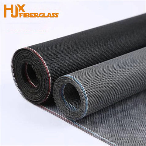 powder coated black security mesh for window and door screen on China WDMA