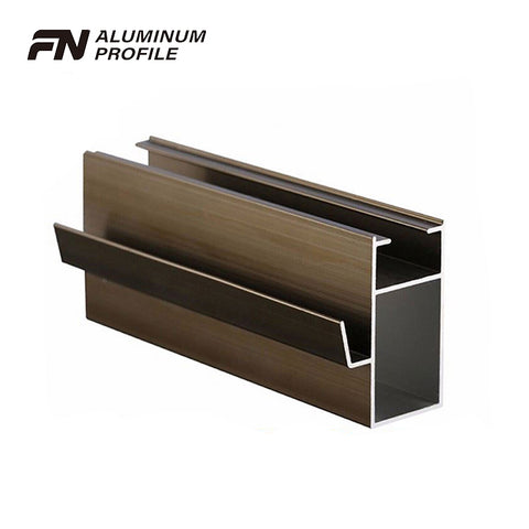 powder coating extruded aluminum profile system for windows and sliding door on China WDMA