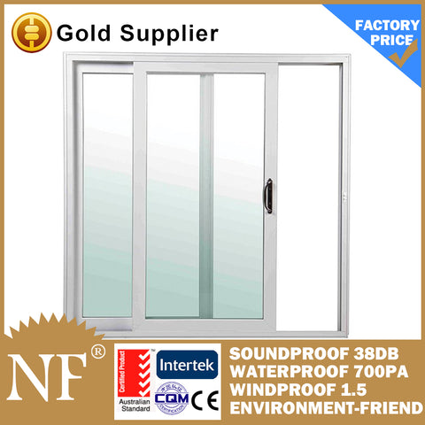 pvc grill design sliding window with mosquito net on China WDMA