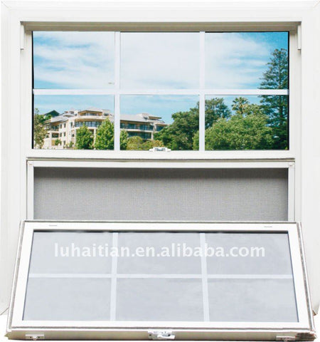 pvc lift and slide windows with window grill design on China WDMA