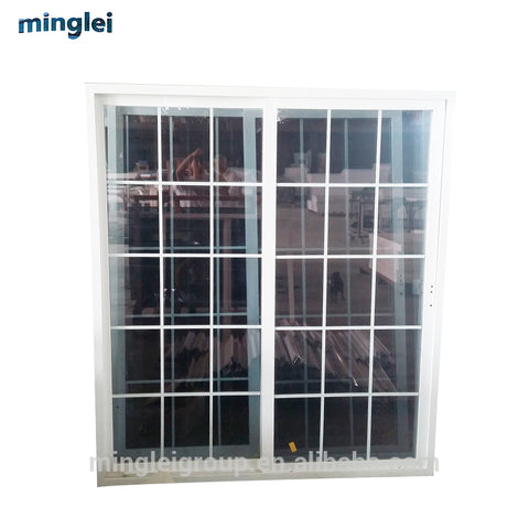 pvc mosquito net vinyl clad upvc sliding louver windows and doors on China WDMA
