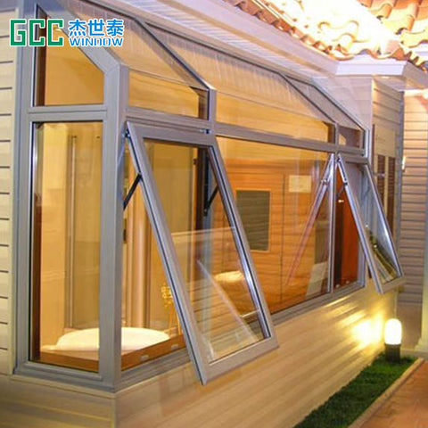 pvc sliding tinted glass window with roller shutter on China WDMA