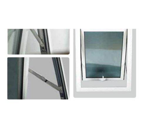 pvc window frame awning window Roof Windows on China WDMA