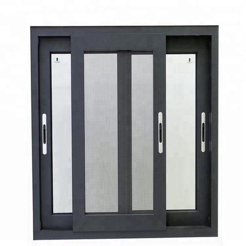 qianshan house windows modern design aluminum frame double glazed sliding window factory prices on China WDMA
