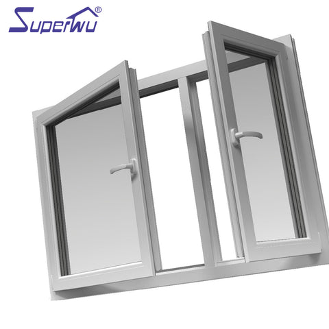 quality chinese products pvc/upvc frame glazed bifold doors and windows on China WDMA