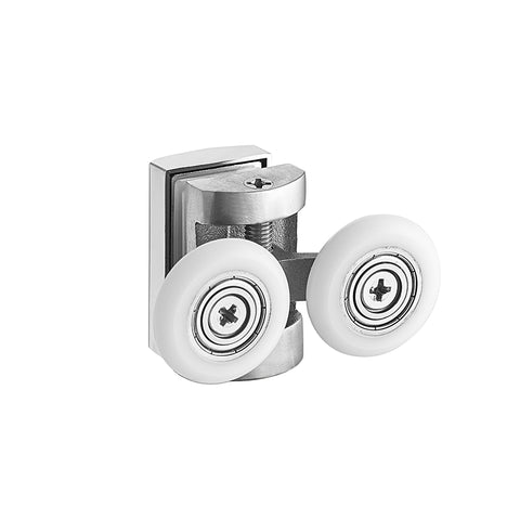 replacement bathroom upper lower shower door rollers on China WDMA
