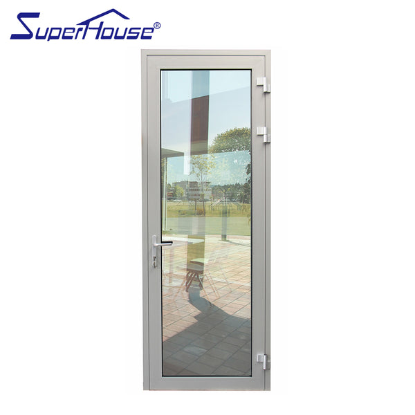 residential custom exterior tempered glass french patio doors design on China WDMA