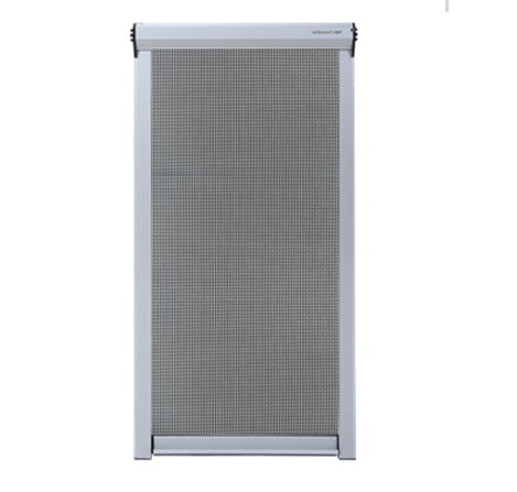 retractable roller mosquito net fly screen window on China WDMA