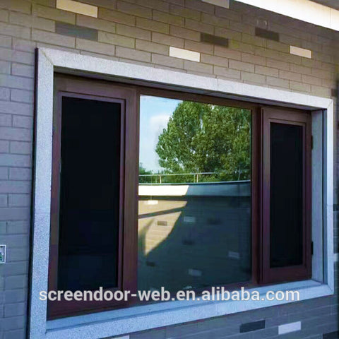 rigid stainless screen mesh windows security bulletproof screen on China WDMA