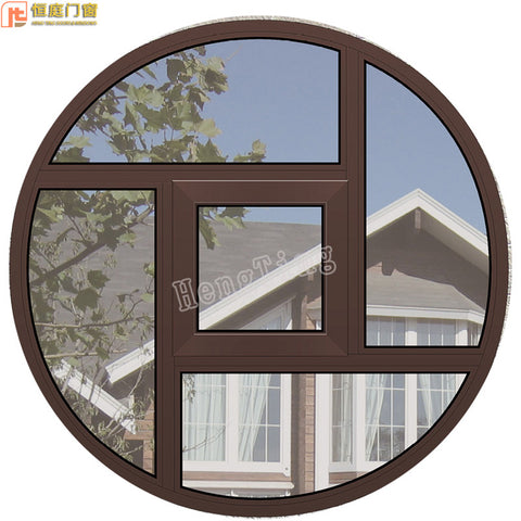 round used aluminum window for sale/arch aluminum windows on China WDMA