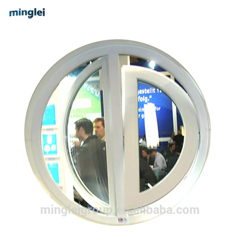 round window price circular upvc fixed window cost company on China WDMA