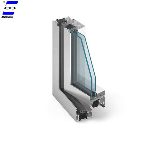 safety aluminum windows and doors with hurricane proof glass on China WDMA