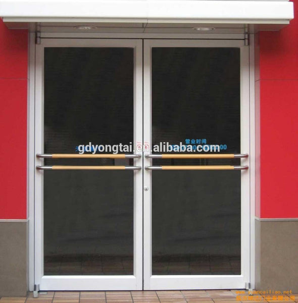 sash white aluminum glass door with 0.8mm/1.2mm/2.0mm thickness on China WDMA