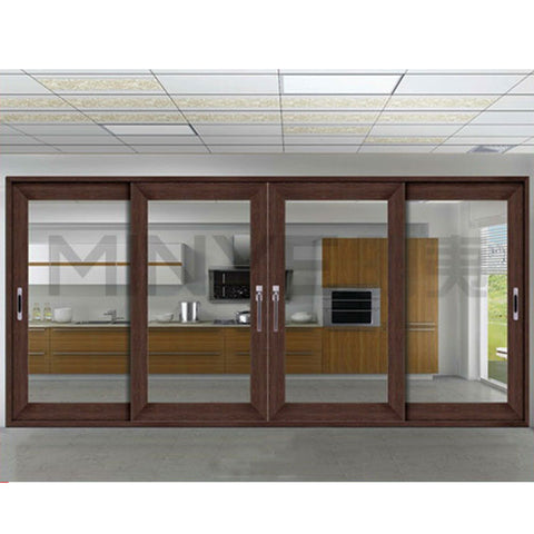 security sliding door anti robbery sliding door with stainless steel screen on China WDMA