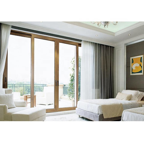 sliding door company prices/aluminium glass door/large sliding glass doors on China WDMA
