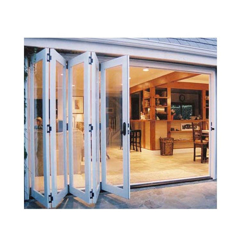 sliding folding doors plastic pvc concertina fold door vinyl folding door on China WDMA