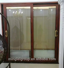 sliding patio glass doors with built in blinds on China WDMA