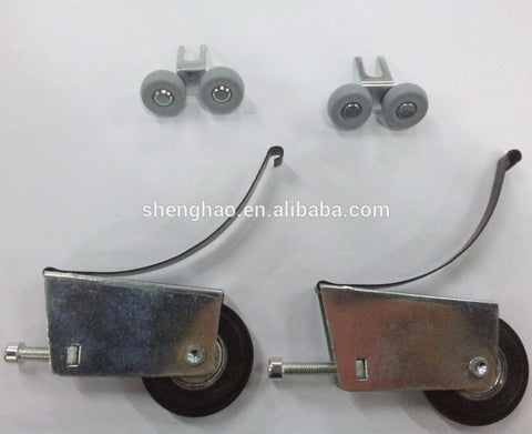 sliding roller fitting for Aluminium frame sliding door/rollers for sliding wardrobes on China WDMA